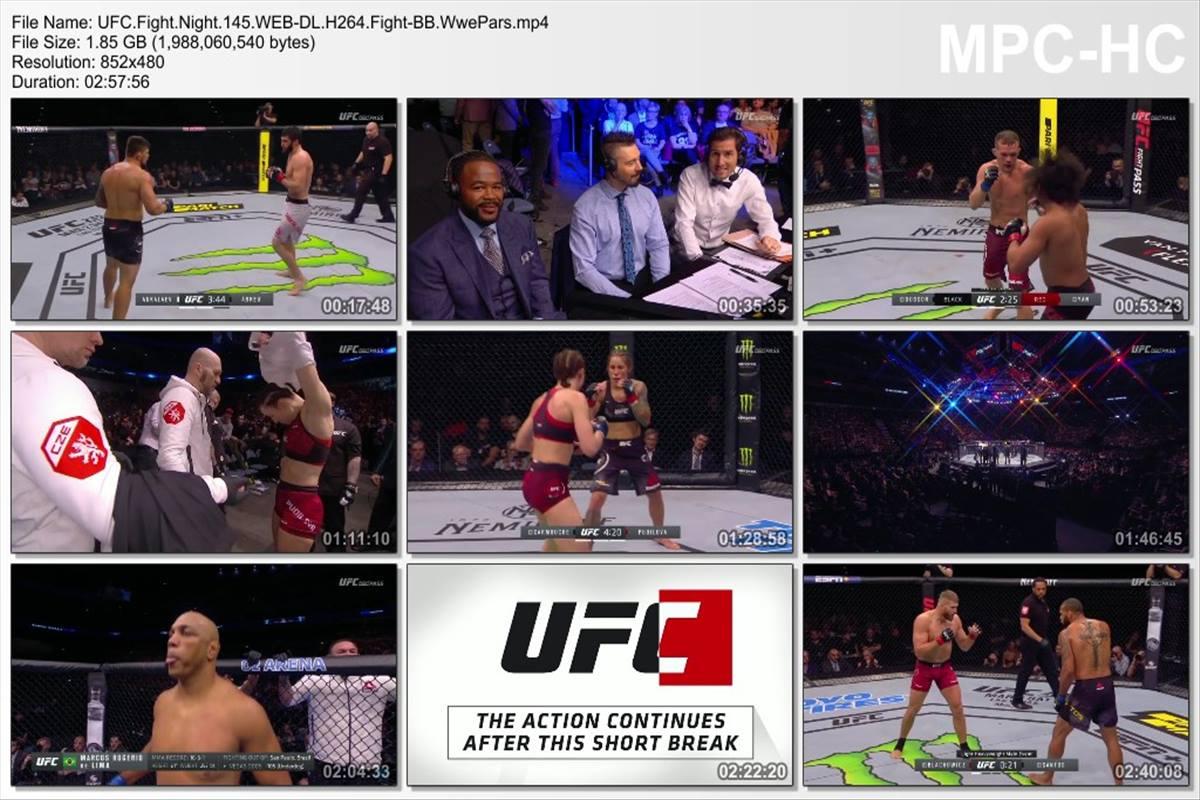 UFC Fight Night 145
